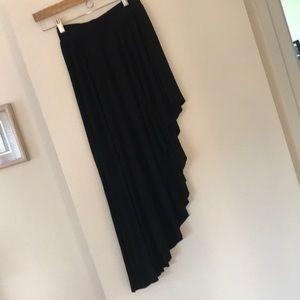 Free People Hi-Lo asymmetrical skirt.